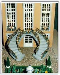 rokoko miniaturhauser palais mit garten With französischer balkon mit gold ochsen sonnenschirm