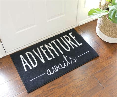 Adventure Awaits Door Mat   FloorMatShop.com   Commercial