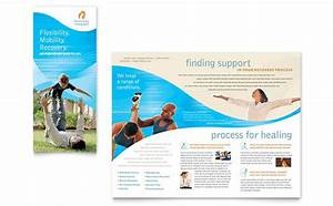 physical therapist brochure template design With free massage therapy brochure templates