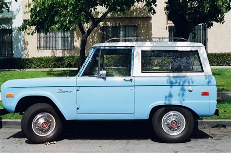 Free Stock Photo Of Blue Bronco Car