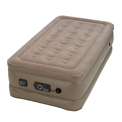 never flat air mattress instabed raised air bed mattress with built in never
