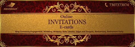 Event Invitation Card Design PACEWALK