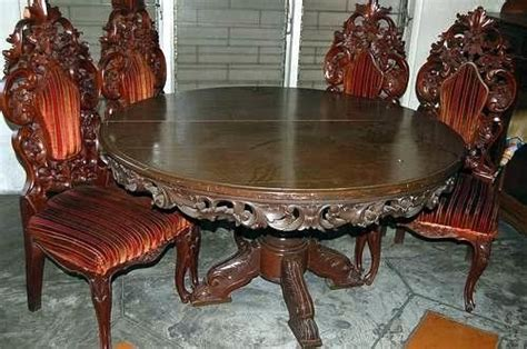 antique narra dining table  negotiable  sale