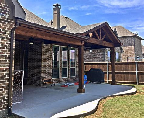 Extensions Kitchen Ideas - covered patio extension remodeling contractor complete solutions flower mound tx
