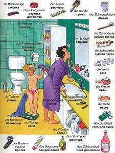 wortschatz das badezimmer wortschatz deutsche With bathroom in german language