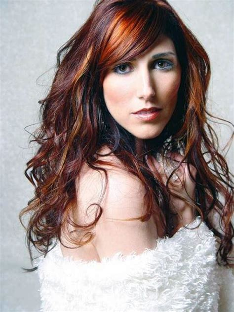 highlighting hair styles highlights for brown hair pictures inofashionstyle