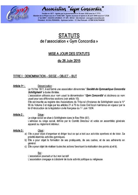proc鑚 verbal association changement bureau association loi 1901 changement bureau changement du bureau d une association 28 images mod c3 a8le proc c3 a8s verbal association beau
