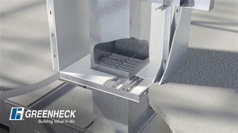 Greenheck Horizontal Fire Smoke Damper in a Non Concrete