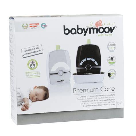 babyphone pour 2 chambres babyphone premium care de babymoov sur allobébé