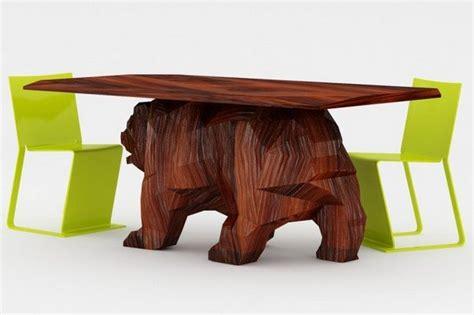 Creative Small Kitchen Ideas - a creative furniture design concept bear table freshome com