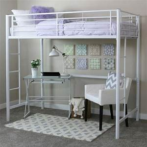 Hauteur Lit Mezzanine : lit en hauteur 2 places maison design ~ Premium-room.com Idées de Décoration
