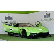Green Aston Martin Vulcan  Supercar Report