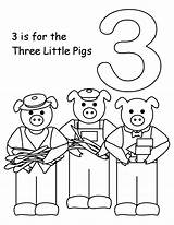 Pigs Three Preschool Worksheets Printable Coloring Pages Number Kindergarten Activity Sheets Template Activityshelter Preschoolers Rocks Papers Via Printablecolouringpages Templates Coloringbay sketch template