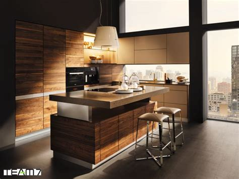 wooden kitchen interior design k 252 che mit kochinsel planen so geht s 1639