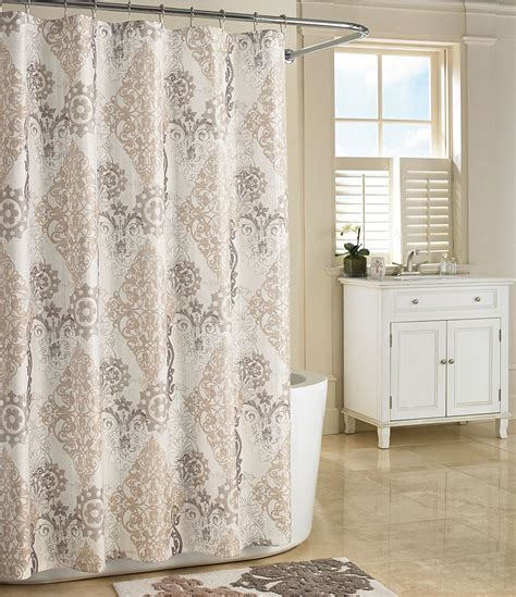 j queen new york galileo damask shower curtain dillards