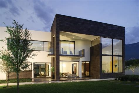 Modern Residence With A Clean Design In Mexico Casa Del