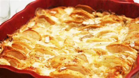 gratin aux pommes de terre et au camembert recette special
