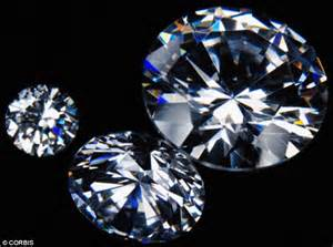 Diamonds form in a simple chemical reaction 120 miles ...