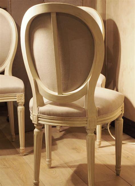 chaises de style six chaises médaillon de style louis xvi paul bert serpette