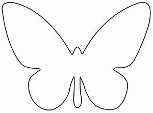 free butterfly template printable cut out With butterfly paper cut out template