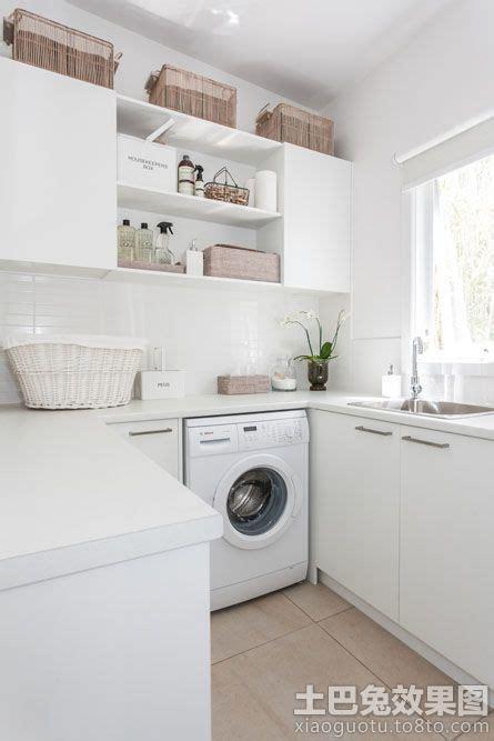 kitchen laundry designs 室内上排水洗衣机摆放效果图 土巴兔装修效果图 2128