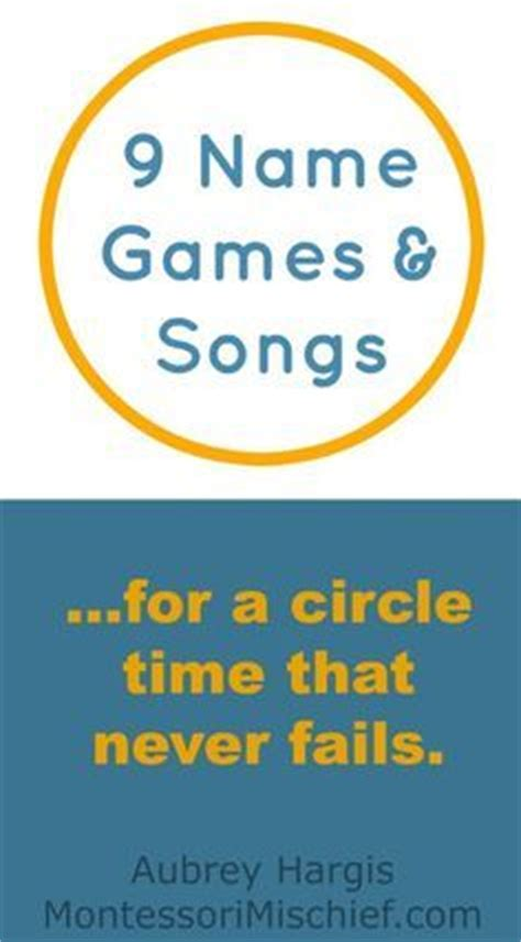 25 best ideas about name songs on circle time 863 | f51687af95c04378743cea96e699dc12