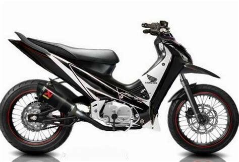 Supra X 125 Modifikasi by Honda Supra X 125 Modifikasi Modifikasi Motor Kawasaki