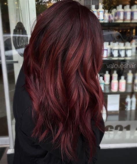 maroon braids   great maroon hair styles chick