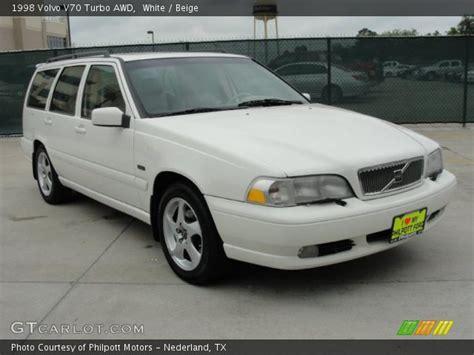 1998 Volvo V70 Awd by White 1998 Volvo V70 Turbo Awd Beige Interior