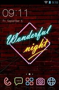 Neon Light Android Theme For CLauncher