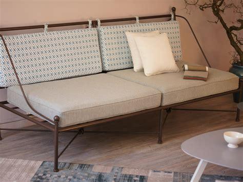 canapé lit en fer forgé canapé en fer forgé provencal fabrication française