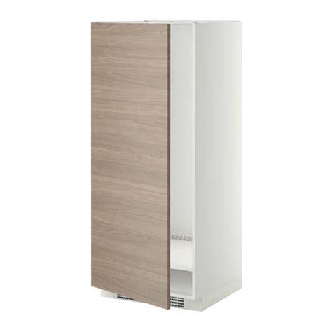 facade meuble cuisine metod armoire pour réfrig congélateur blanc brokhult