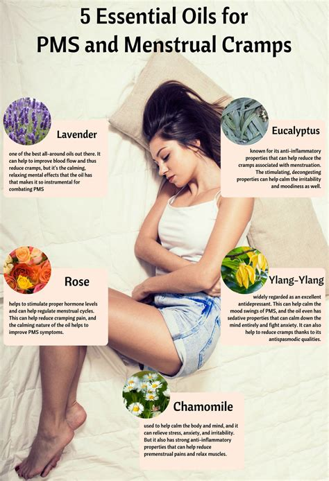 5 Essential Oils For Pms And Menstrual Cramps Pms