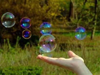 Bubbles Soap Nature Bubble Sabao Holding Bolha