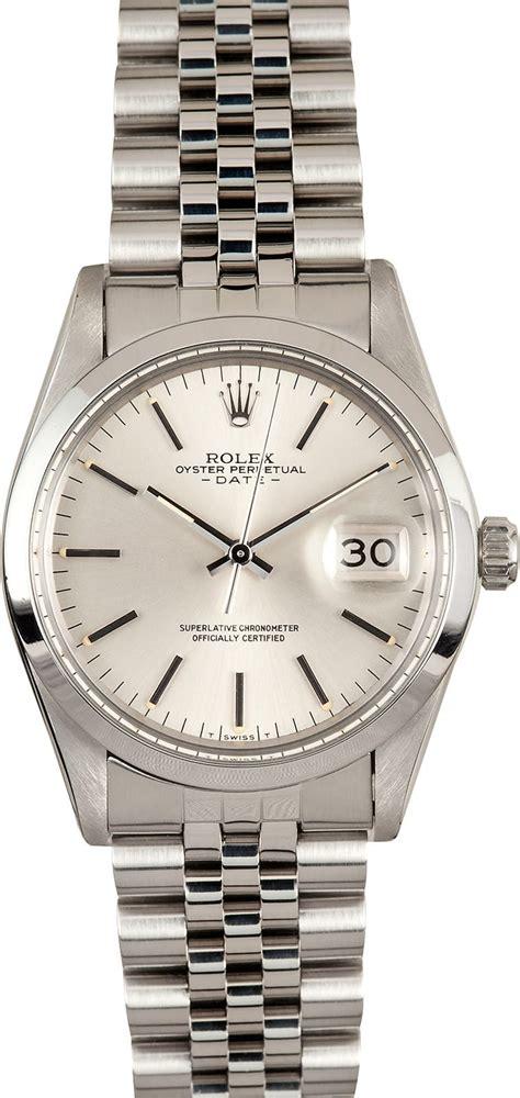 Rolex Date Ref. 15000 - 100% Authentic