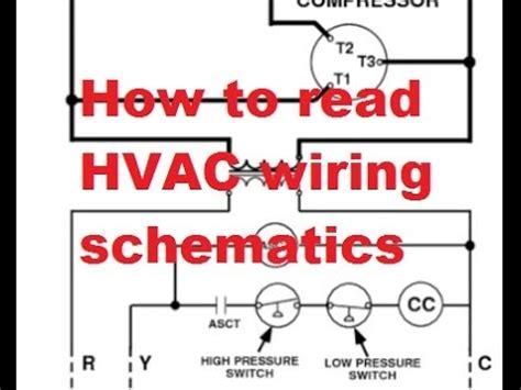 hvac reading air conditioner wiring schematics youtube