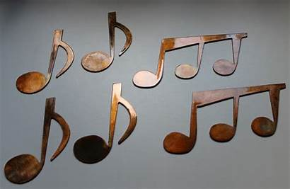 Wall Notes Metal Copper Bronze Plated