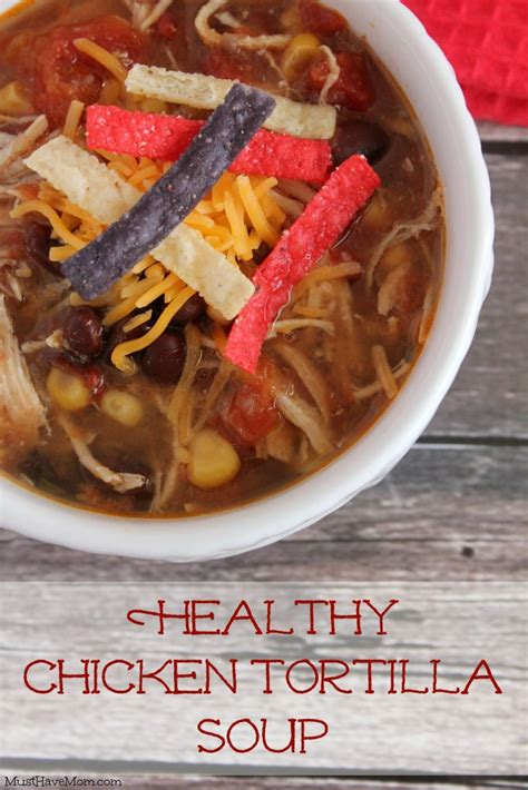cooker healthy chicken healthy chicken tortilla soup slow cooker recipe