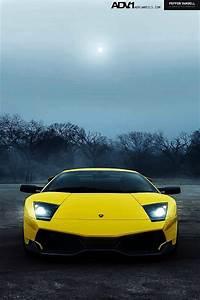 Yellow Lambo iPhone 5 Wallpaper (640x960)