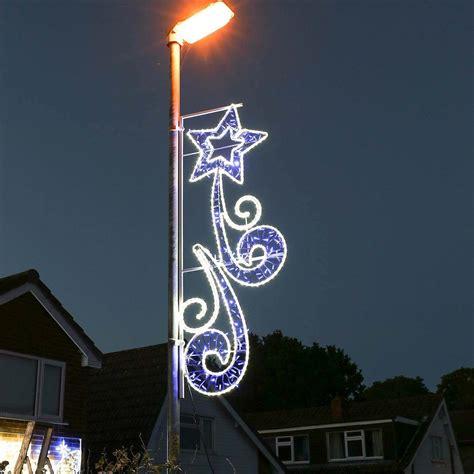 2m aluminium outdoor rope light christmas shooting star