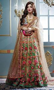 Latest Pakistani Bridal Dresses 2018 for Women (5) Spring Summer Fashion