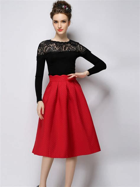 High Waisted Skirt in Fashion