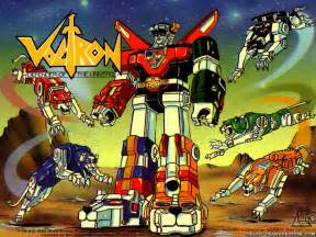 Original Voltron Cartoon Lions
