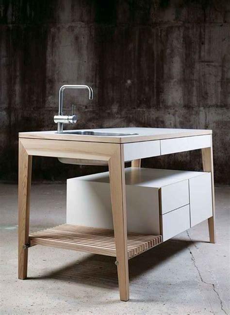 freestanding kitchen sink 20 wooden free standing kitchen sink home design lover 1079