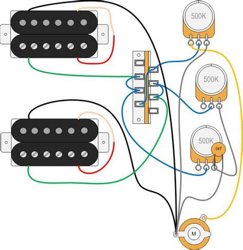 3 Wiring Strat by H H 3 Way 1 V 2 T