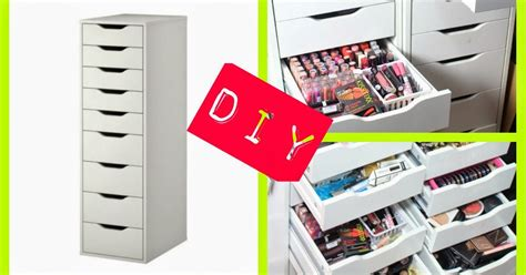 Diva Makeup Queen Diy Ikea Alex Drawers For Makeup