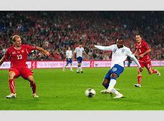 Switzerland 13 England, Euro 2012 Qualifier – Top 10