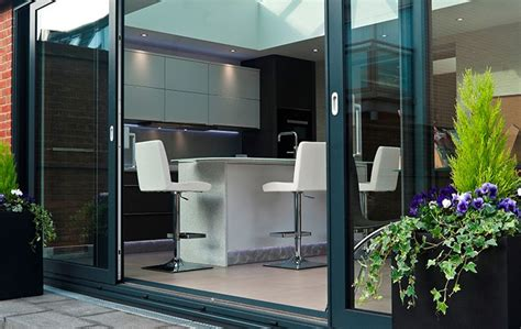 aluminium sliding patio doors in bronze price sliding