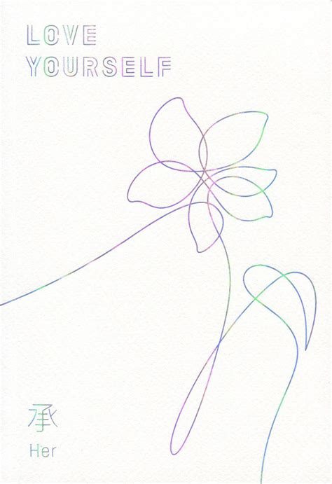 BTS Love Yourself 承 'Her' (2017 Version E CD) Discogs