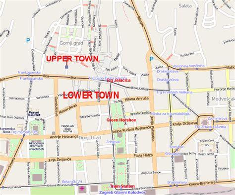 zagreb street map